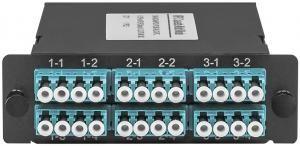 SNR-MCM-MPO/UPC(M)-24LC/UPC -  Волоконно-оптические кассеты MPO/UPC на 24LC/UPC портов, MM являются модульным Plug & Play решением, сочетающим самые высокие характеристики передачи, гибкость конфигурации купить в Казани Кассеты MPO представляют собой высокоэффективное модульное решение для быстрого развертывания волок