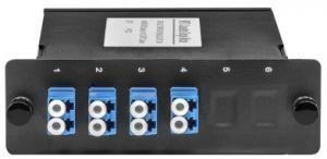 SNR-SLOT-MPO/UPC(M)-8LC/UPC SM -  Волоконно-оптические кассеты MPO на 8LC/UPC портов являются модульным Plug & Play решением, сочетающим самые высокие характеристики передачи, гибкость конфигурации купить в Казани Кассеты MPO представляют собой высокоэффективное модульное решение для быстрого развертывания волок