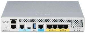 Cisco AIR-CT3504-K9 -  Контроллер Cisco 3504 для беспроводной сети, поддержка стандарта 802.11ac Wave 1 и Wave 2 купить в Казани В комплект входит:- блок питанияКрепления в комплект не входят.Обзор продуктаКонтроллер беспров