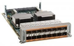Cisco N55-M16UP -  Модуль, 16 универсальных портов 1- 10GE (SFP+) либо 1/2/4/8Gbps Fibre Channel (SFP+, SFP), для Cisco Nexus 5500. купить в Казани Модуль расширения, 16 универнсальных портов 1- 10GE (SFP+) либо 1/2/4/8Gbps Fibre Channel (SFP+, SF