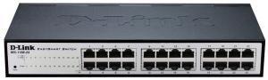 D-Link DES-1100-24 - Настраиваемый L2 коммутатор с 24 портами 10/100Base-TX купить в Казани Серия коммутаторов DES-1100 EasySmart объединяют полный набор настраиваемых функций, обеспечивающих