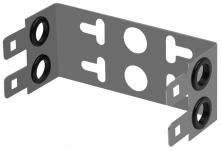 SNR-BR-1310-2 -  Скоба под 2 плинта LSA 10 пар купить в Казани Скоба SNR-BR-1310-2 устанавливается в специальных распределительных коммутационных ящика