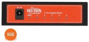 Wi-Tek WI-SG105 - Коммутатор неуправляемый 5 портов 1000Base-T, корпус металл, внешний БП купить в Казани Неуправляемый гигабитный коммутатор WI-SG105 применяется в небольших инсталляциях IP-телефонии